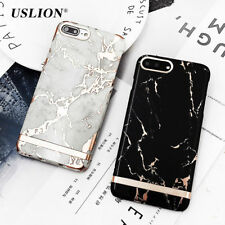 Gold Marble  PAttern Case For iPhone 7 Plus 6 5 Phone Cases Ultra Thin Cover