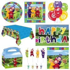 Teletubbies Kids Party Supplies Decorations Table Cover,Plates,Cups,Napkins,