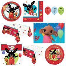 Bing Birthday Party Supplies Decorations Plates,Cups, Napkins,Table Cover,Banner