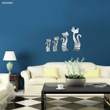 Four Cats Designed Craft Kid Baby Bedroom Kitchen Livingroom Wall Stickers 4E5D