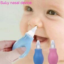 Nasal Aspirator Vacuum Sucker Silicone Baby Nose Mucus Snot Cleaner Pump E6BE