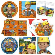 Bob The Builder Party Supplies Plates,Cups,Napkins,Banners,Table Covers,Balloons