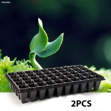 Container Seedling Tray Durable Storage 2pcs Seedling Starter Nursery Pots 7B6A