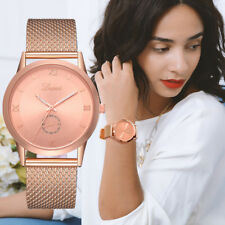 Fashion Ladies Women's Casual Quartz Stainless Steel  Watches Analog Wrist Watch