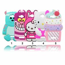 Housse Etui silicone kitty lapin sulley pour alcatel one touch Pop C7