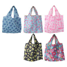 Folding Waterproof Oxford Cloth Tote Shopping Travel Shoulder Bag Pouch Handbag