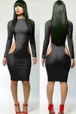Womens Dress Bodycon Ladies Party Dress Figure Hugging Evening Casual Summer