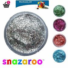 Snazaroo Glitter Gel 12ml Glitter Dust Fancy Dress Halloween Face Paint Makeup