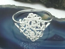 Anello Decorativo Argento Ring 925 Ghirigori Spirale Anello Donna Brillante