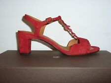CHIE MIHARA - Mod. LAUBO Sandali in camoscio rosso - MADE IN SPAIN