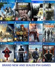 PS4 Game NEW! Black ops Warfare Battlefield Front Dogs Fifa Fallout Uncharted