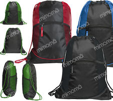 BORSA CON CORDONCINO ZAINO SACCA ZAINETTO BAG CLIQUE SMART BACKPACK 040163