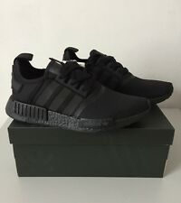ADIDAS NMD_R1 TRIPLE BLACK S31508 REFLECTIVE LIMITED EDITION TRAINERS SIZE 5.5