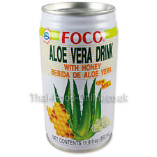 Authentic Imported Thai Aloe Vera Drink by Foco ** UK Seller - Quick Delivery **