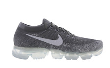 NIKE AIR VAPORMAX FLYKNIT DARK GREY PURE PLATINUM UNISEX TRAINERS VARIOUS SIZES