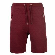 Pierre Cardin Hombres Quilted Shorts Mens Fleece