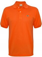 POLO LACOSTE L1212 ABB ORANGER BASIC DUE BOTTONI