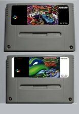 Super Nintendo Tortugas Ninja Teenage Ninja Turtles Tournament y Turtles in Time
