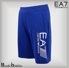 Emporio Armani EA7 Junior Boys Blue Bermuda Shorts Age 8-9-10-11-12-13-14 Years