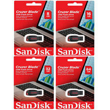 8GB16GB 32GB 64GB SanDisk Pen Cruzer thumb Flash Blade Stick SDCZ50 Drive USB2.0