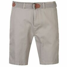 Pierre Cardin Hombres Belt Chino Shorts Mens Cargo