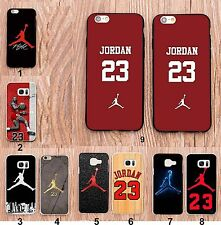 Funda Cover jordan basket para Samsung Galaxy S3 S4 S5 S6 S7 IPhone 4 5 6 7 8