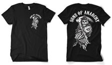 Sons Of Anarchy American Reaper Official Licensed Men's T-Shirt S-XXL Black