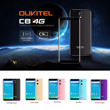 "Oukitel C8 Android 7.0 4G LTE Cellulare 5.5 "" 18:9 HD + Quad Core 16gb Cellulare"