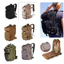 30L Outdoor Military Rucksacks Tactical Backpack Camping Hiking Trekking Bag New