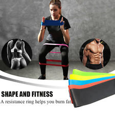 dline Resistance Bands Fitness Equipment Rubber Loop Pilates Sport Training Work