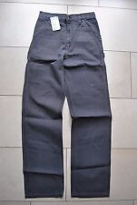 "Original Carhartt ""Single Knee Pant"",Farbe: Graphite --NEUWARE"