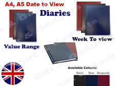 2019 A4/A5 Size Week to View/Day To View Page Desk Diary-Desk Diary/Office Diary