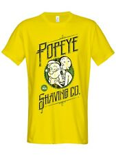 Popeye'S Shaving Co Camiseta Yellow