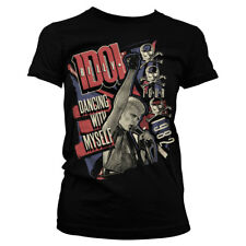Official Licensed Billy Idol - Dancing With Myself Tour Ladies T-Shirt S-XXL