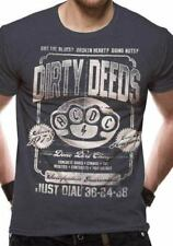 Acdc Dirty Deeds Duster Grigio Vintage Gonna Unisex Taglie: M,L,XL,XXL Nuovo