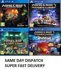 PS4 Minecraft Story Mode Complete Adventure Season Two MINT -Super Fast Delivery