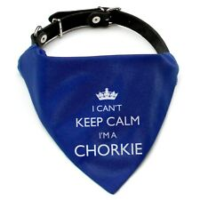 I'm A Chorkie Bandana Neckerchief | Red or Blue | Gift for dogs & puppies