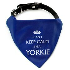 I'm A Yorkie Bandana Neckerchief | Red or Blue | Gift for dogs & puppies