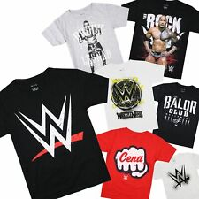 WWE - OFFICIAL LICENSED - Kids T-Shirt The Rock Brock Lesnar John Cena AJ Styles