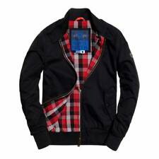 SUPERDRY LONGHORN HARRINGTON JACKET BLACK BRAND NEW ALL SIZES  XS S L XL XXL 3XL