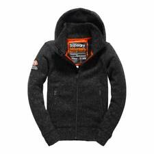 SUPERDRY EXPEDITION  ZIP HOOD JACKET BLACK BRAND NEW ALL SIZES  XS S M L XL XXL