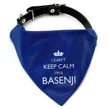 I'm A Basenji Bandana   Collar neckerchief   Gift for dogs puppies & owners