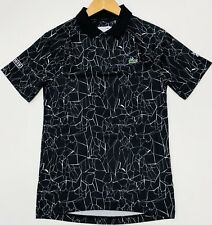 LACOSTE SPORT NOVAK DJOKOVIC-ON COURT COLLECTION PRINT TECHNICAL JERSEY POLO