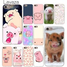 For Apple iPhone 4S 4 8 7 6 6S Plus X 10 5 5S Hard skin Case Cover Animal Pig