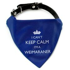I'm A Weimaraner Bandana Neckerchief   Red or Blue   Gift for dogs & puppies