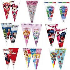 PJ Masks/Disney Sweet Cone Party Favor Bags Kids Birthday Cello Loot Filler Gift
