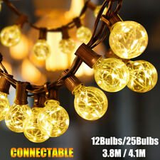 G40 Globe LED Bulbs String Lights Indoor Outdoor Christmas Wedding Party Decor