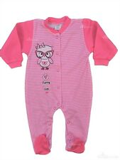 *BNWT* Baby Toddler *Girls *Sleepsuit *Playsuit 100% COTTON SIZE: 3-6 Months