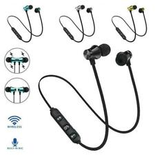 Sportivo Cuffie auricolari magnetici wireless stereo Bluetooth Con Mic In-Ear