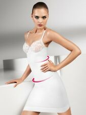 Wolford Velvet Lace Forming White Dress
